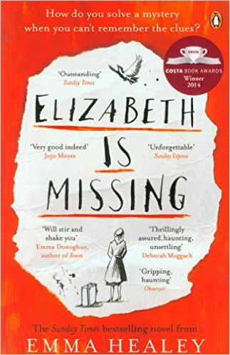 elizabeth is missing novel