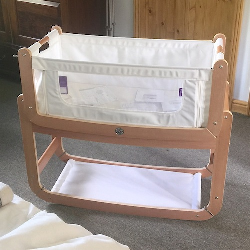 co-sleeping cot review