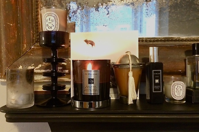 jo malone dark amber and ginger lily candle