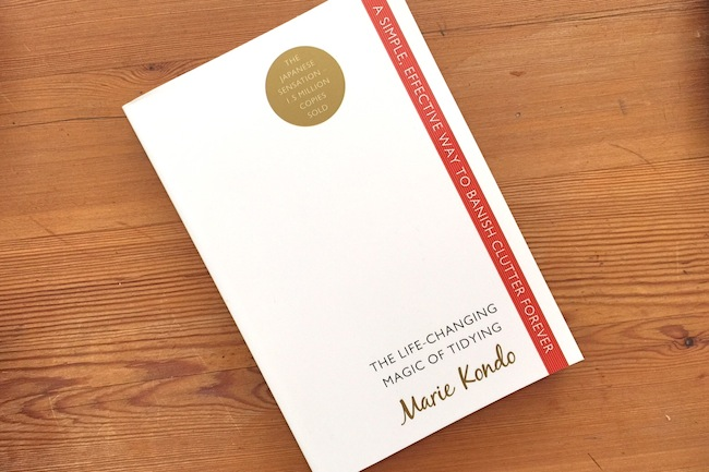 marie kondo magic of tidying