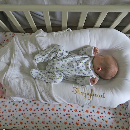 Review Sleepyhead Deluxe Portable Baby Bed A Model