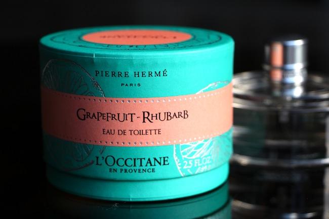 pamplemousse rhubarb l'occitane pierre herme fragrance