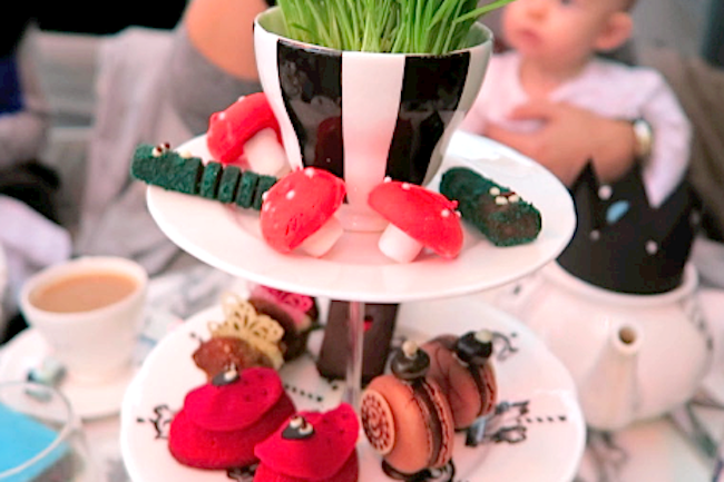 sanderson mad hatters tea party