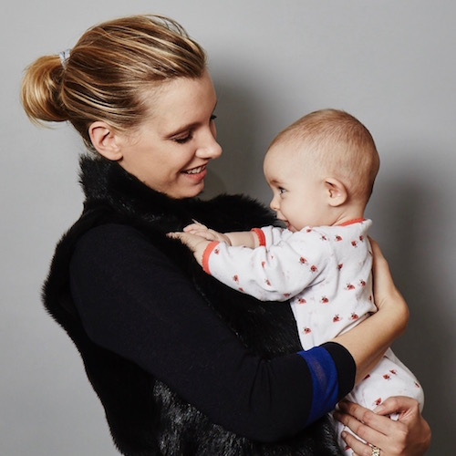 ruth crilly and baby