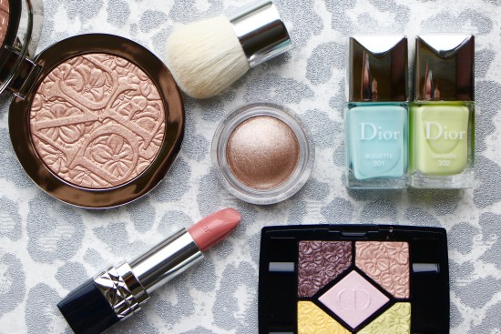 Dior Spring Look 2016 Glowing Gardens