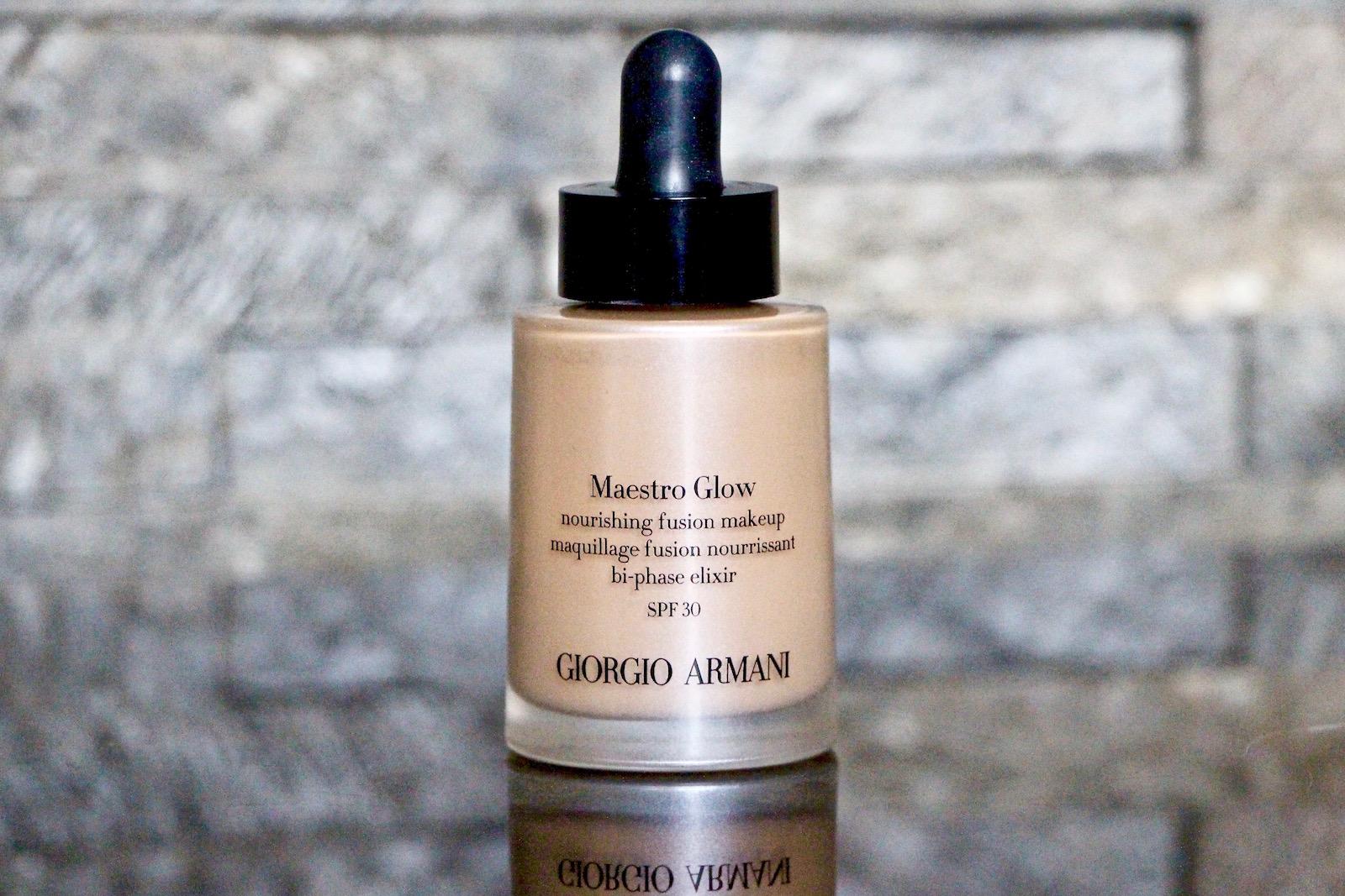 Armani Maestro Glow Nourishing Fusion Makeup - A Y E .. L
