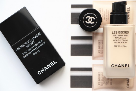 Chanel Foundations: Les Beiges vs Lumiere Velvet