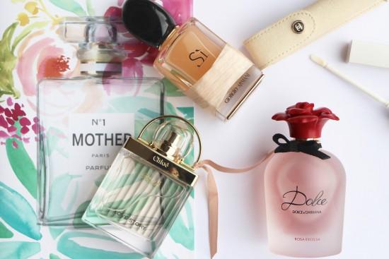 si, chloe love story, dolce rosa, chanel touche de parfum