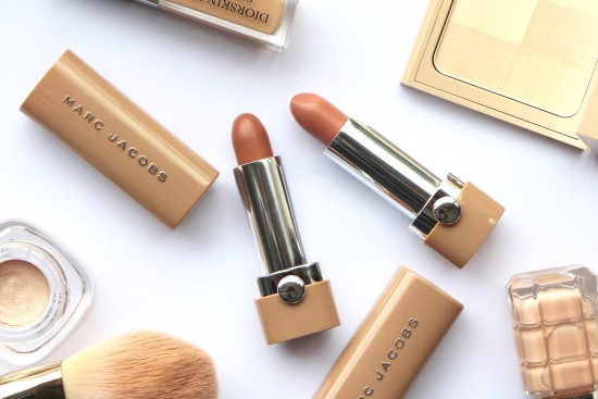 marc jacobs new nudes sheer gel lipstick review