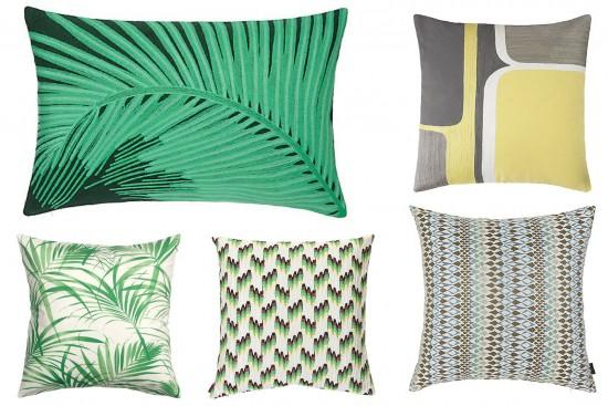 best mid century modern cushions