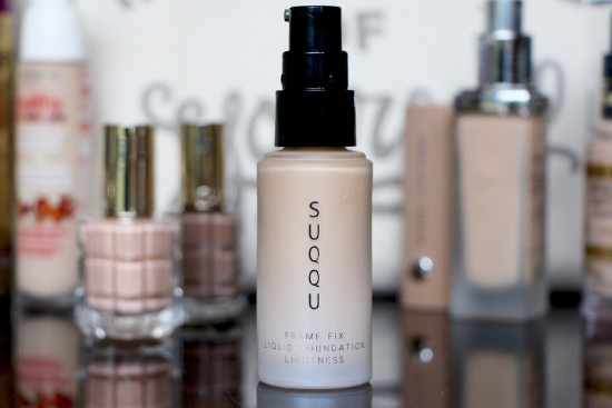 Suqqu Frame Fix Liquid Foundation Review
