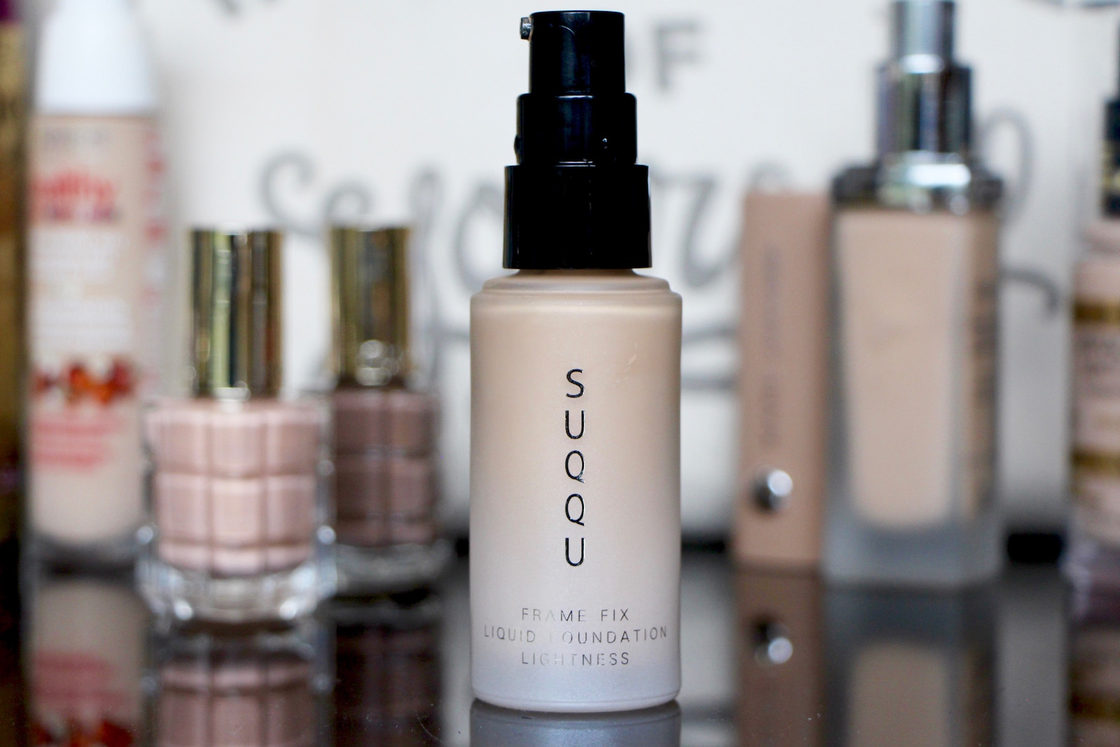 Suqqu Lightness The Flexible Foundation A Model Recommends Make Over Liquid