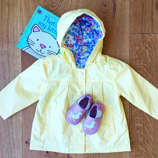 marks and spencer baby raincoat