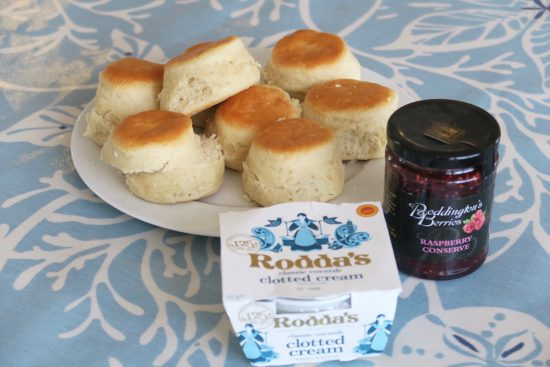 cream tea cornwall