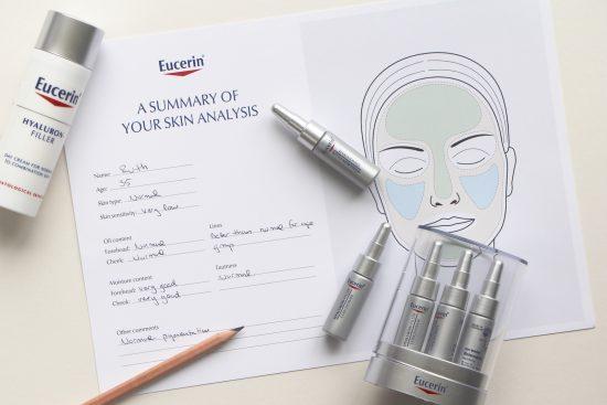 eucerin skincare evaluation