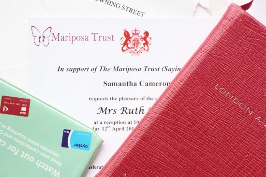 downing street reception mariposa trust