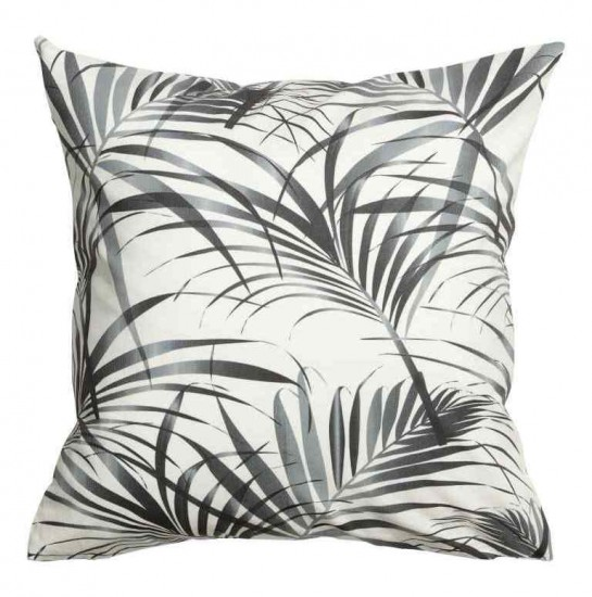 h&m fern leaf cushion
