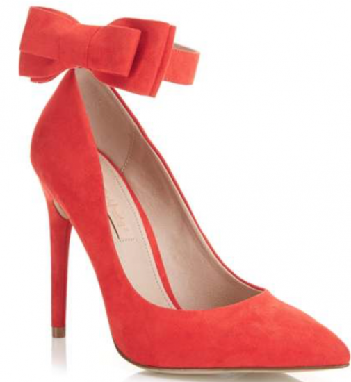 red sexy shoes miss selfridge