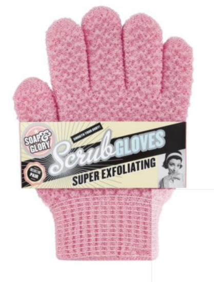 soap & glory scrub gloves