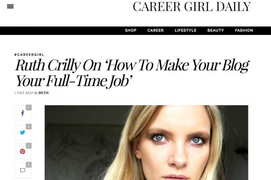 ruth crilly career girl daily