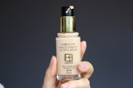 max factor face finity foundation review