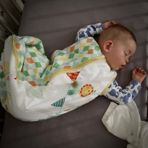 how to train my baby to sleep through the night