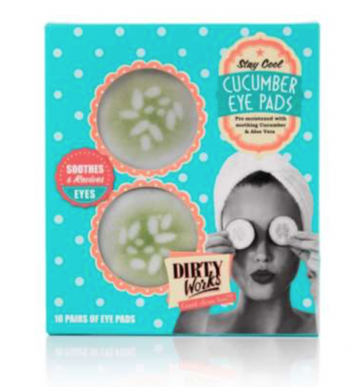 dirty works cucumber eye pads
