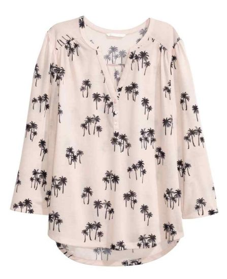 hm palm tree shirt