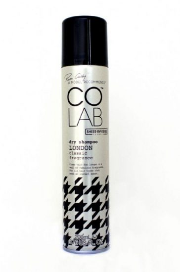 colab london dry shampoo