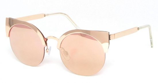 monki rose gold sunglasses