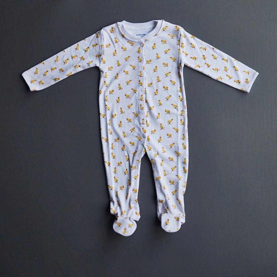 jojo maman bebe duckling sleepsuit
