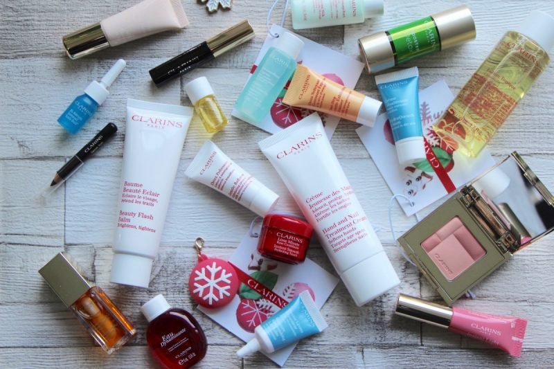 clarins beauty advent calendar 2016