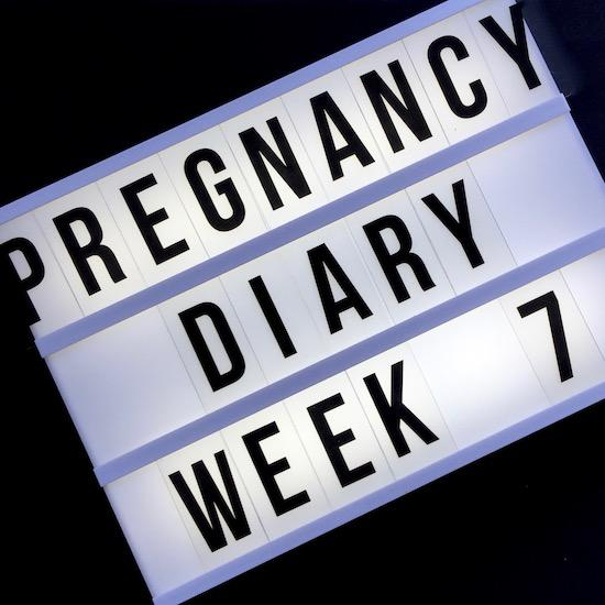 early pregnancy diary 7 weeks
