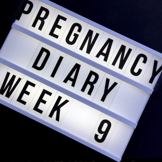 early pregnancy diary 9 weeks