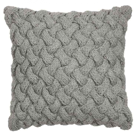 h&m cable knit cushion chunky