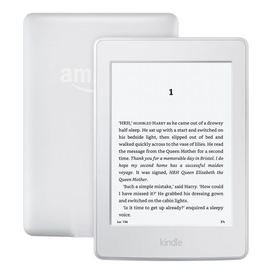 paperwhite white version kindle