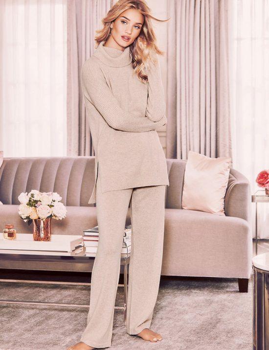 rosie cashmere pyjama set