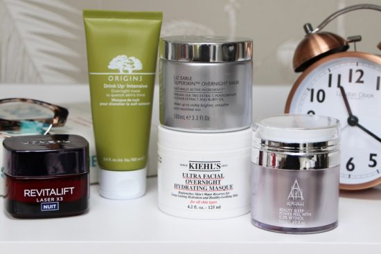 five best night cream overnight masks