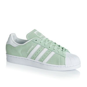 adidas originals superstar mint green suede