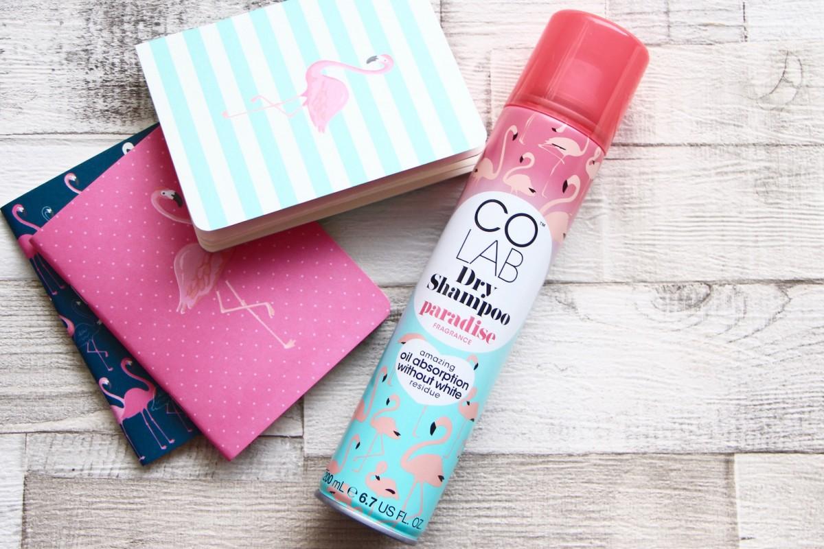 colab paradise dry shampoo