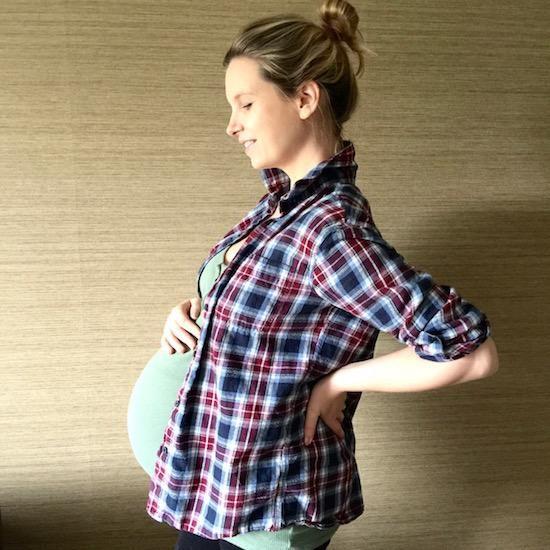 heavily pregnant blog
