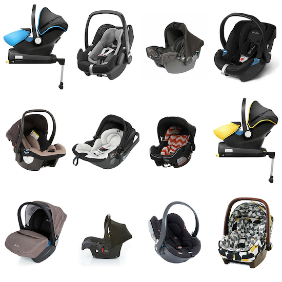 choosing the best baby car seat