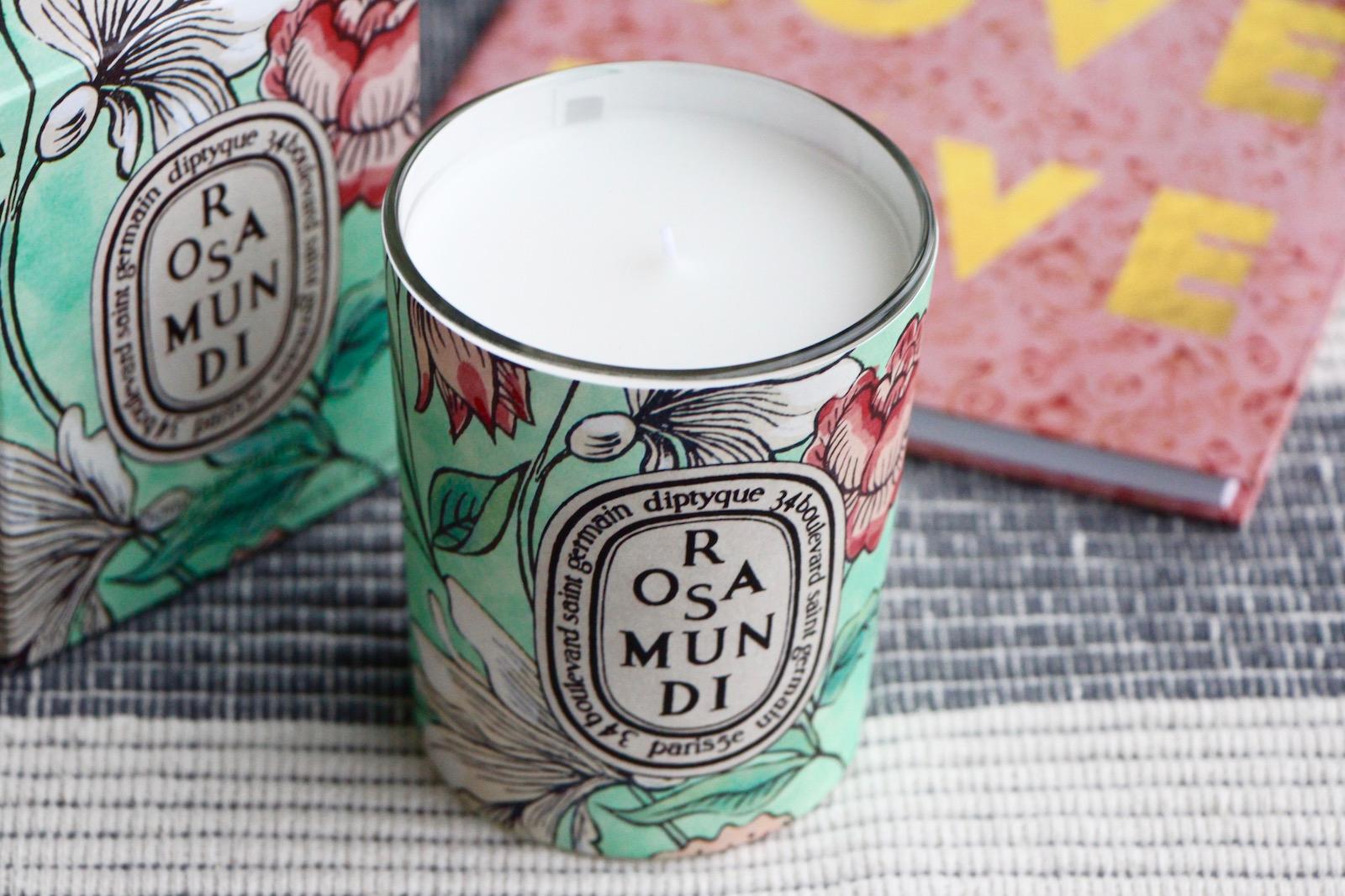 diptyque rosamundi candle