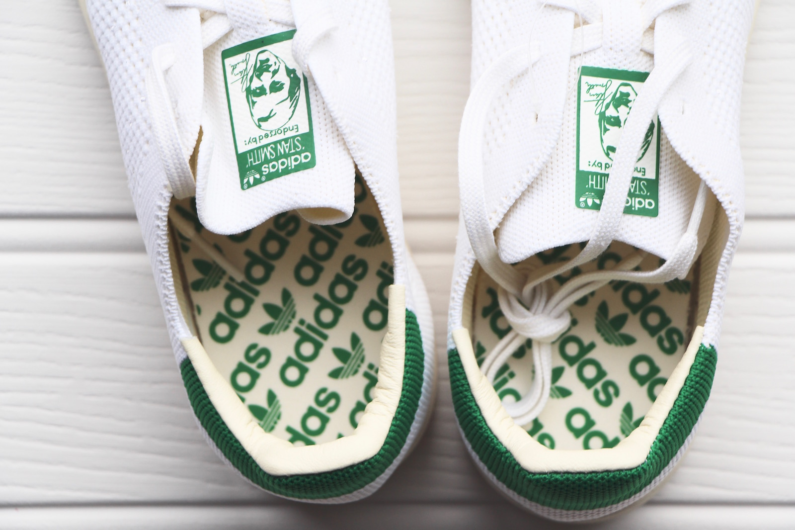 Adidas Stan Smith Primeknit Trainers