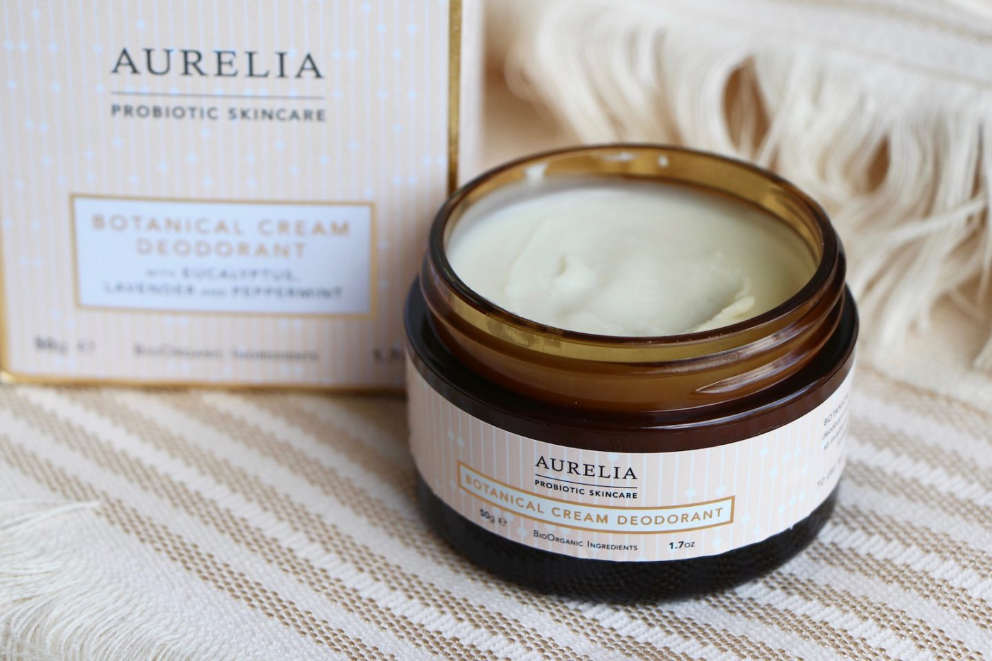 Aurelia Botanical Cream Deodorant Review Natural