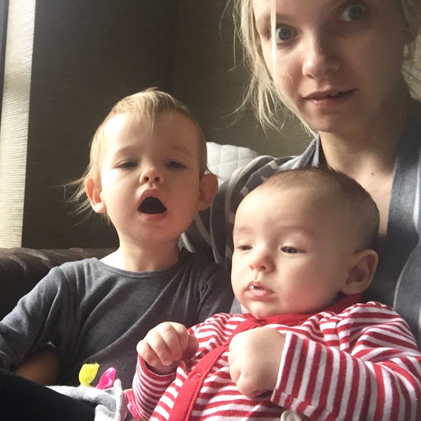 Toddler, Baby and Me: The Four Month Update