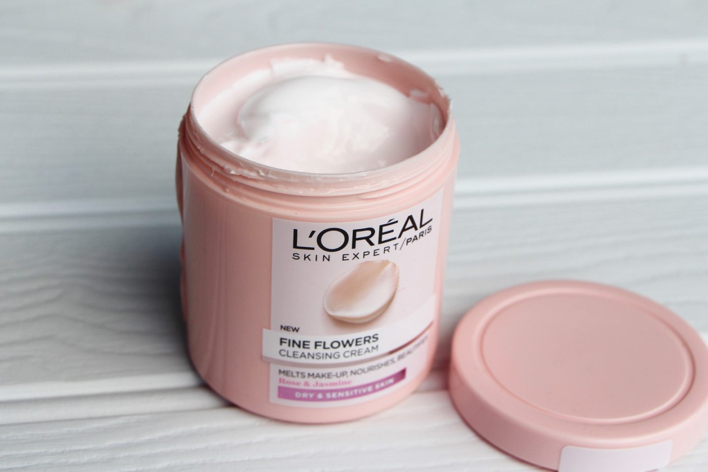 l'oreal fine flowers cleansing cream review
