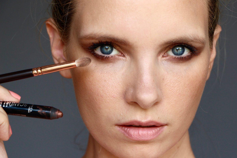 easy smokey eye makeup look