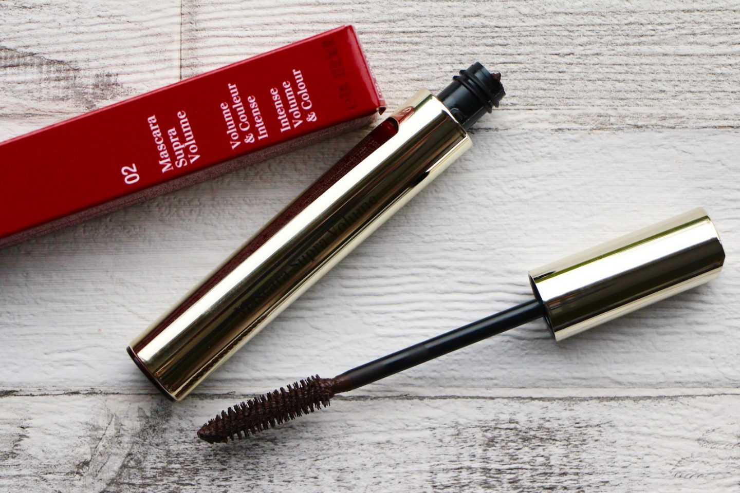 Clarins Mascara Supra Volume in Brown
