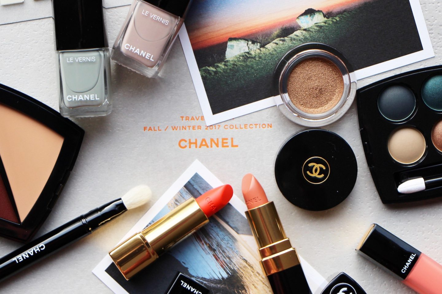Chanel AW17 Makeup Collection Travel Diary